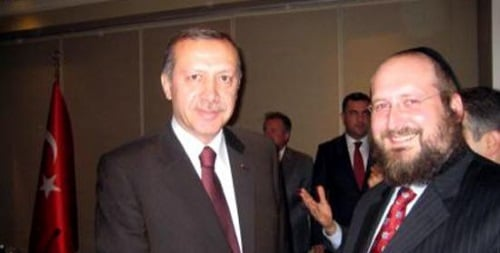 הרב מנדי חיטריק בפגישה עם ארדואן, נשיא טורקיה