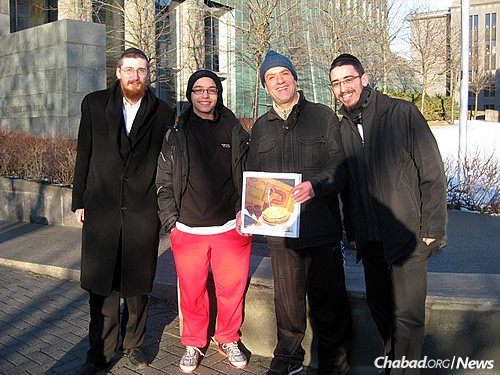 Last year, the rabbis were able to personally deliver or send handmade shmurah matzah to every known Jewish person in Iceland.