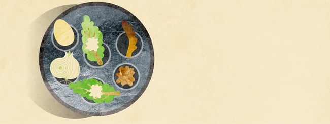 The Seder Table Speaks: The Meaning Behind the Seder Plate