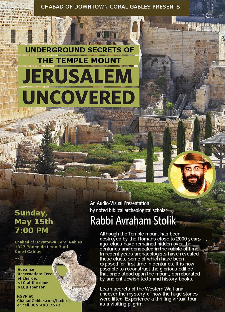 Underground Secrets of the Temple Mount