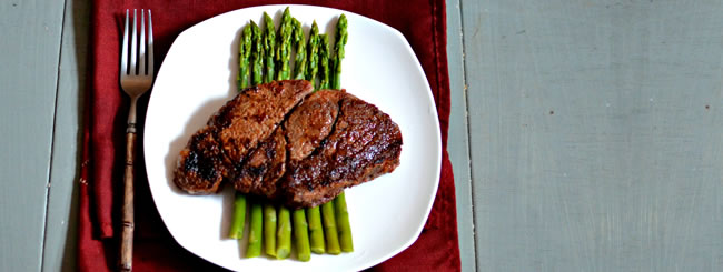 Cook It Kosher: Quick & Easy Steak with Corn & Asparagus