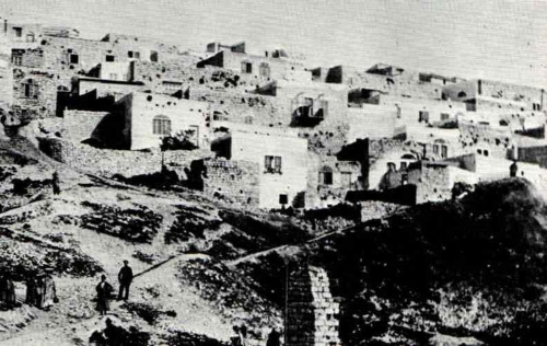 העיר צפת במאה ה-19.