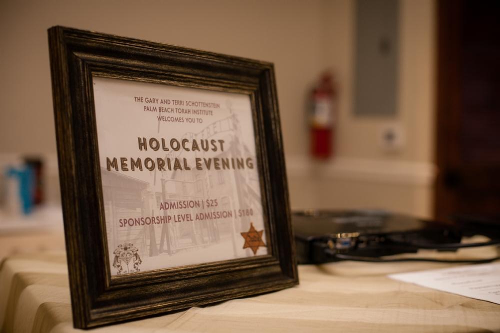 Holocaust Memorial with Ester Kisner