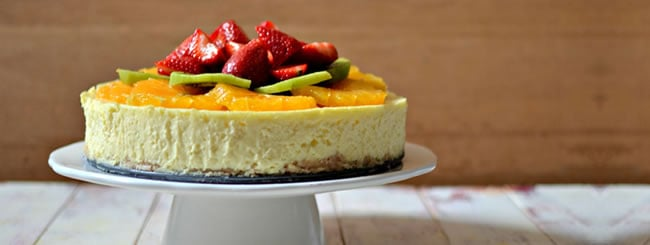 Cook It Kosher: Classic Cheesecake with Fresh Fruit