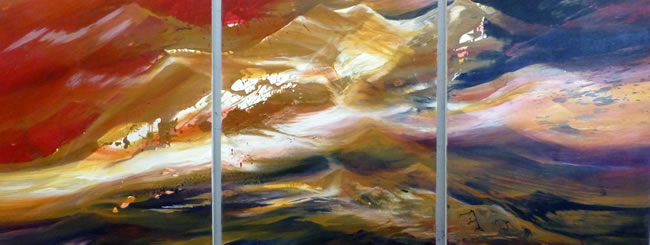 Jewish Art for the Soul: Dialogue of the Mountains