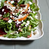 Arugula Salad with Beets, Pear, Feta & Pecans