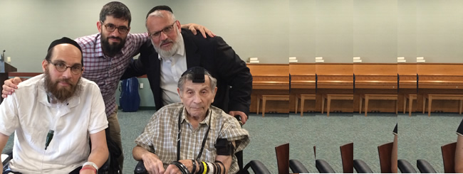 North America: Rehab for the Soul: Rabbi and 90-Year-Old Patient Share a Milestone