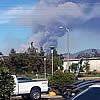 As California Wildfires Rage, Close Calls for Many