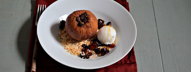 Cook It Kosher: Cinnamon-Raisin Baked Apples