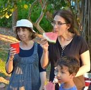 Watermelon at Chabad House event photo