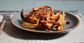 Sticky, Honey-Ginger Roasted Parsnip