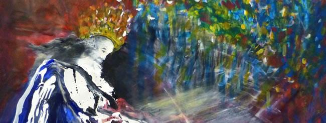 Shoftim Art: The King's Torah Scroll