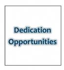 Dedication Opportunities
