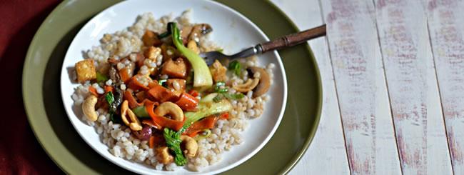 Cook It Kosher: Vegan Asian-Inspired Tofu Stir-Fry