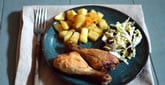 Easy 3-Ingredient Broiled Chicken