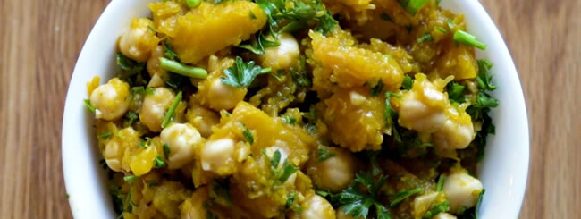 Recipe: Tirshi: Tunisian Pumpkin Salad