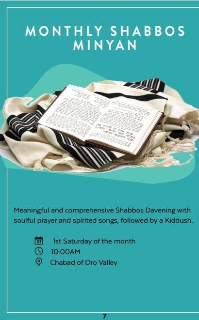 Monthly Shabbos Minyan.JPG