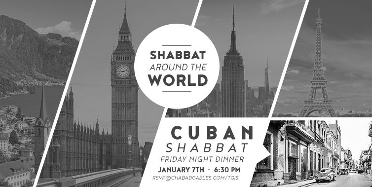 Cuban Shabbat