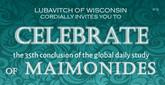35th Completion of Mishneh Torah Brings Special Shabbat Joy in Sukkahs Worldwide