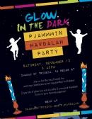 PAJAMA GLOW PARTY