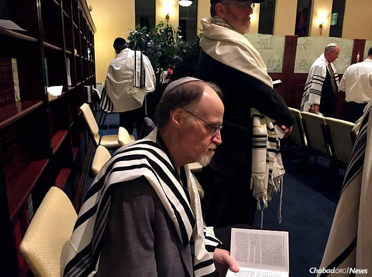 David O'Malley-Keyes of Alaska recently confirmed his Jewish heritage shortly before he lost a battle with cancer. One of his goals was to attend High Holiday services, which he did.
