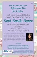 Faith. Family. Future.