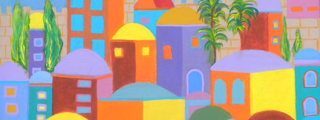 Jewish Art for the Soul: Rebuild Jerusalem