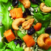 Baby Arugula and Sweet Potato Salad
