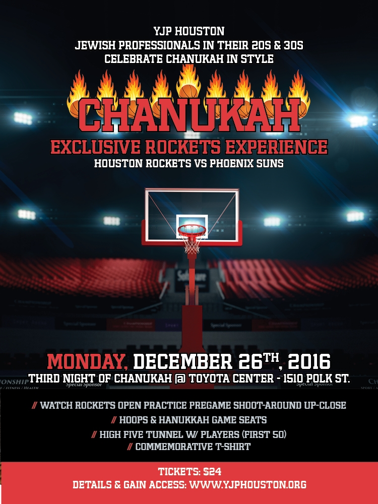 YJP Houston Exclusive Rockets Experience