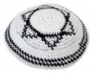 knitted kippa white magen david.jpg