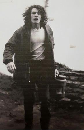El autor en 1972, el año en que se inscribió en la clase del rabino Gurary en la Universidad de Buffalo.