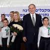 Netanyahu Tells Azerbaijan Schoolchildren of the Rebbe's Influence