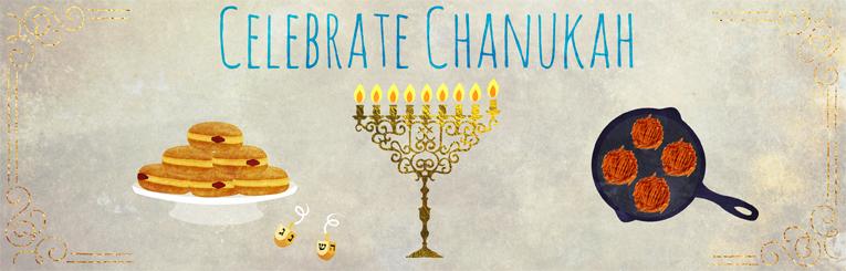 Hanukkah - Chanukah 2017 - Menorah, Dreidels, Latkes, Recipes ...
