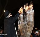 New Year's Eve Ice Menorah Lighting