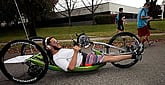 Miami Marathon Cyclist With Cerebral Palsy Wants the 'Dis' Out of Disability