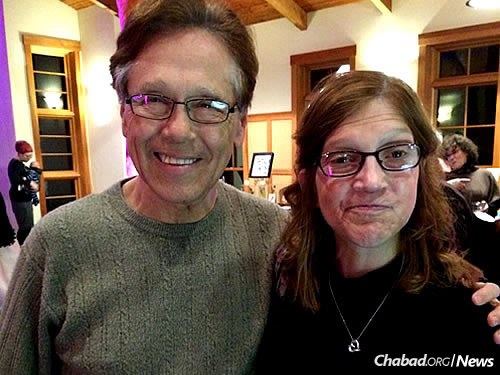 Alan Turner with his daughter, Lisa (Photo: Liza Wiemer)