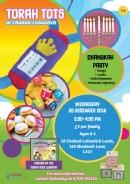 Torah Tots - Chanukah Party!