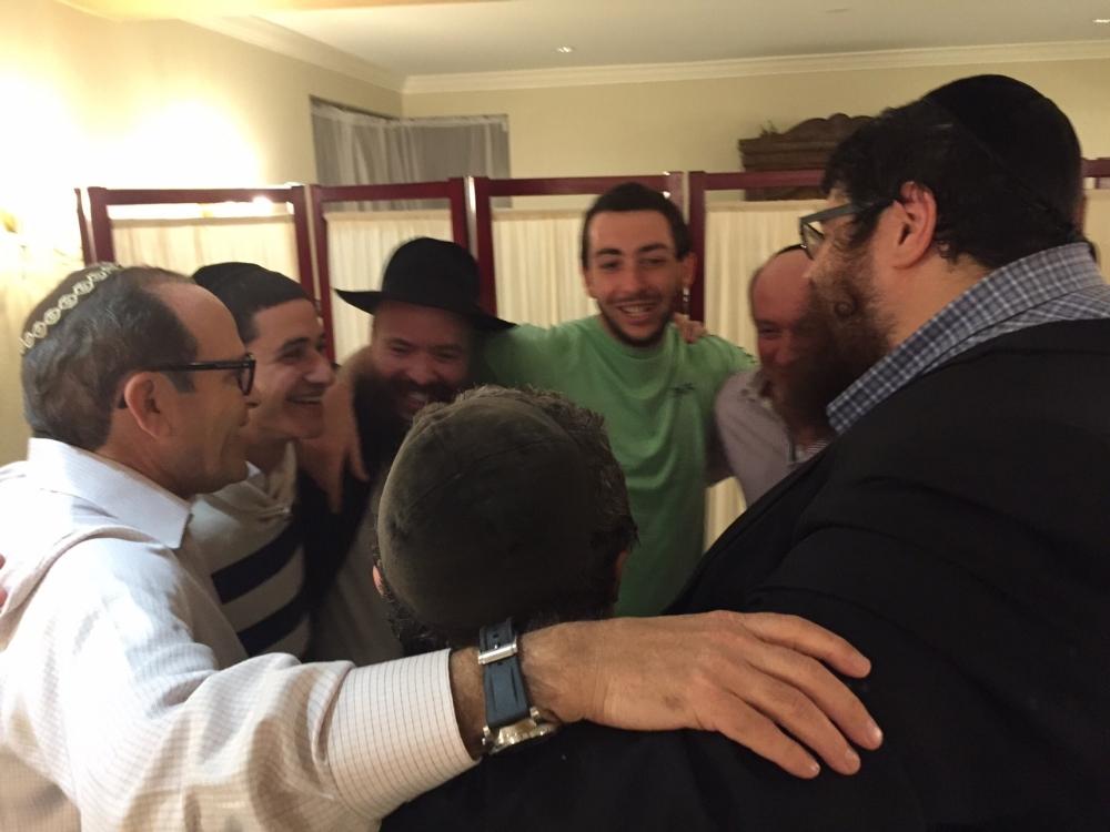 Farbrengen with Rabbi Yossi Hodakov