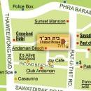Map - Ohr Menachem Chabad House and Kosher Resturant