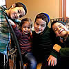 Well Done, Dads! Rabbis Hold Down the Fort While Wives in New York