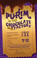 Yardley: Purim in the Chocolate Factory