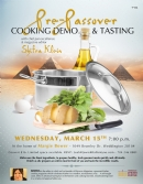 Pre-Passover Cooking Demo