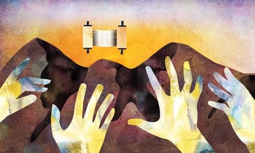 The Revelation on Mount Sinai - Jewish History