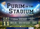 Newtown: Purim at the Stadium