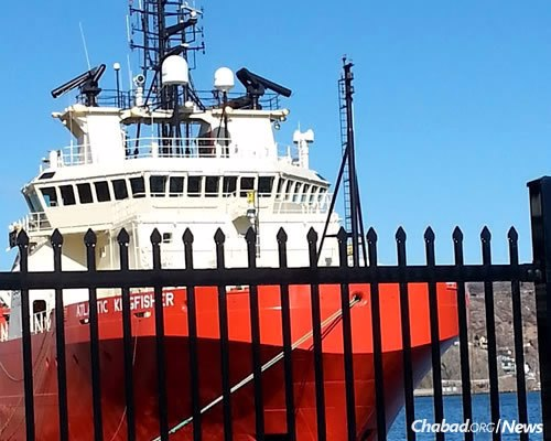 The St. John's port is a transportation gateway and business hub in Atlantic Canada.