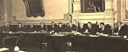 The Provisional Government of the Russian Republic, March 1917.