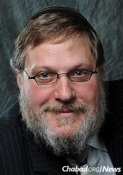 Rabbi Yosef Lipsker, co-director of Chabad-Lubavitch of Berks County, Pa.