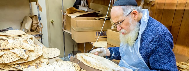 Holiday Watch: 1 Million Pounds of Shmurah Matzah: How Passover Production Continues to Rise