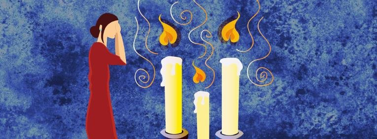Darkness is setting upon the world; the workweek is coming to a close. A week of activity a week of growth a tiring week. But as the sun goes down ... & Shabbat Candle-Lighting - Let There Be Light - Shabbat