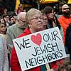 500 at Virginia Tech Rally: 'We Love Our Jewish Neighbors'